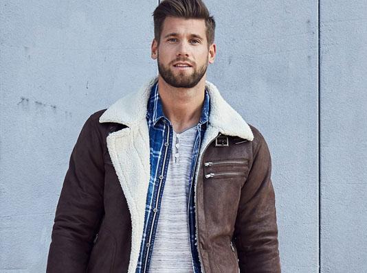 Jeans fritz Herren Jacke
