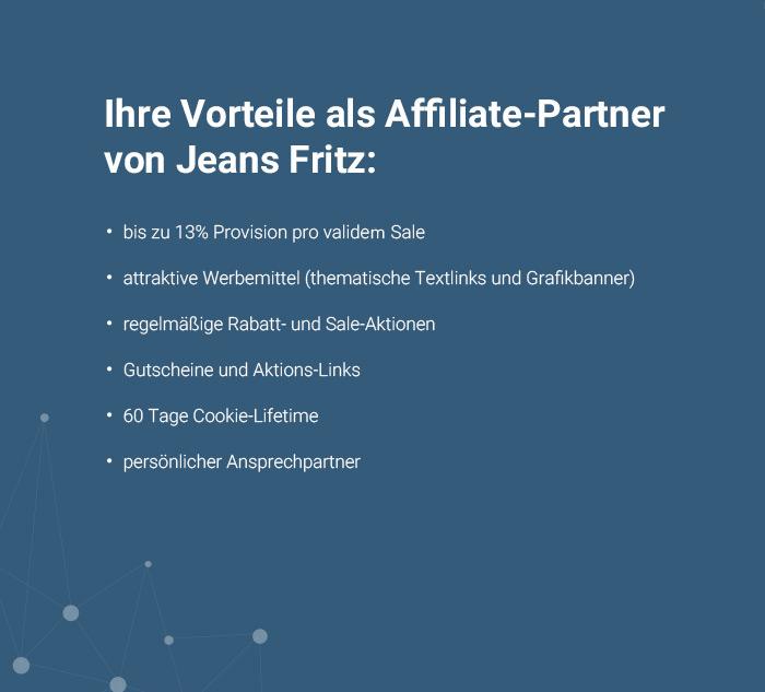 vorteile partnerprogramm