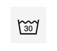 waschen: 30 Grad