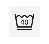 schonwaschgang: 40 Grad